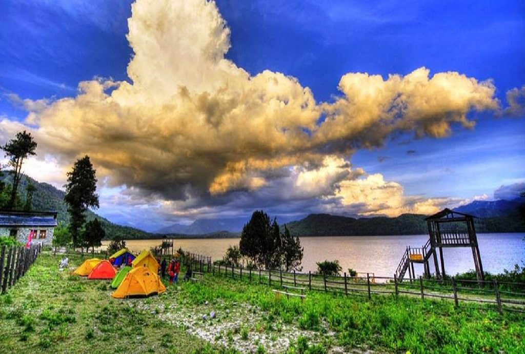 Amazing view of rara lake