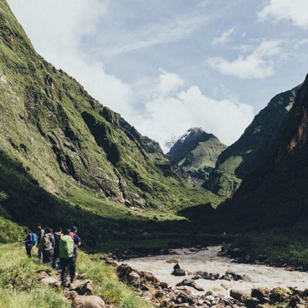 Annapurna Base Camp Trek | ABC Trekking | annapurna sanctuary trek awesome landscape on the way to machapuchre bace camp trek