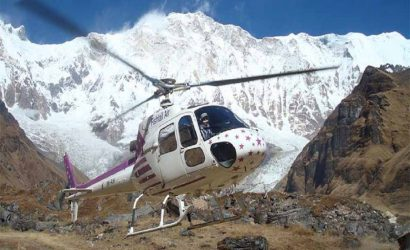Annapurna Base Camp Helicopter Tour sightseeing