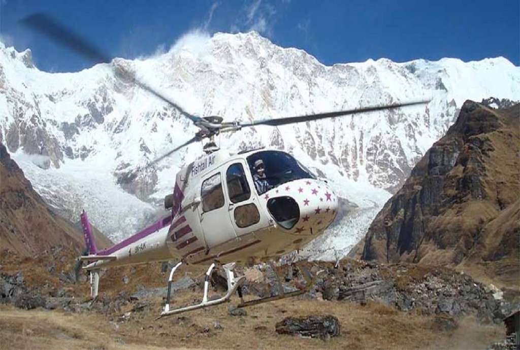 Best cheap Heli tour from Pokhara ABC heli tour Annapurna Base Camp Helicopter Tour sightseeing