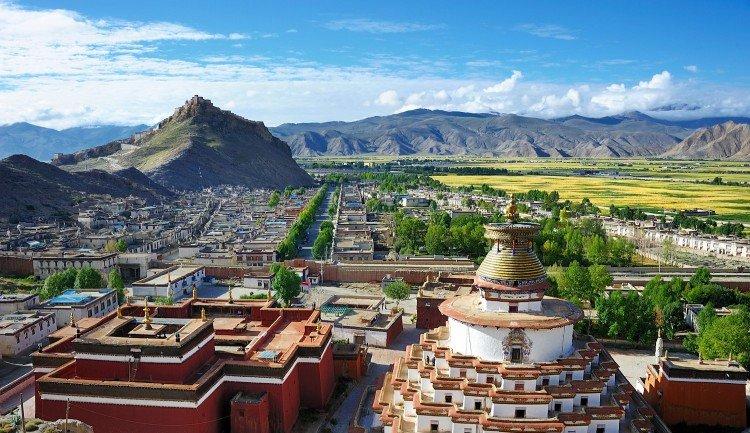 Center Tibet tour
