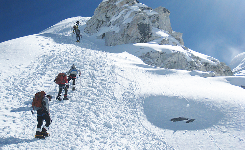Cho oyu Expedition climbing