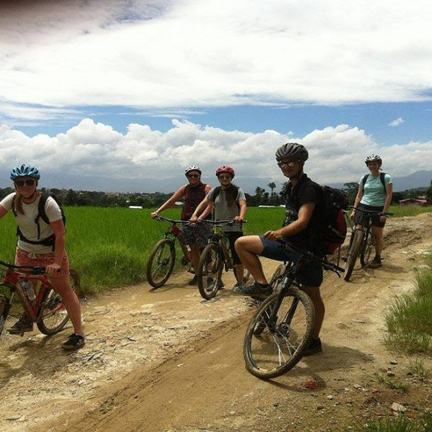 Mountain Biking in Kathmandu kathmandu valley mountain bike tour