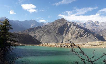 Dhumba lake in Jomsom jomsom muktinath trekking