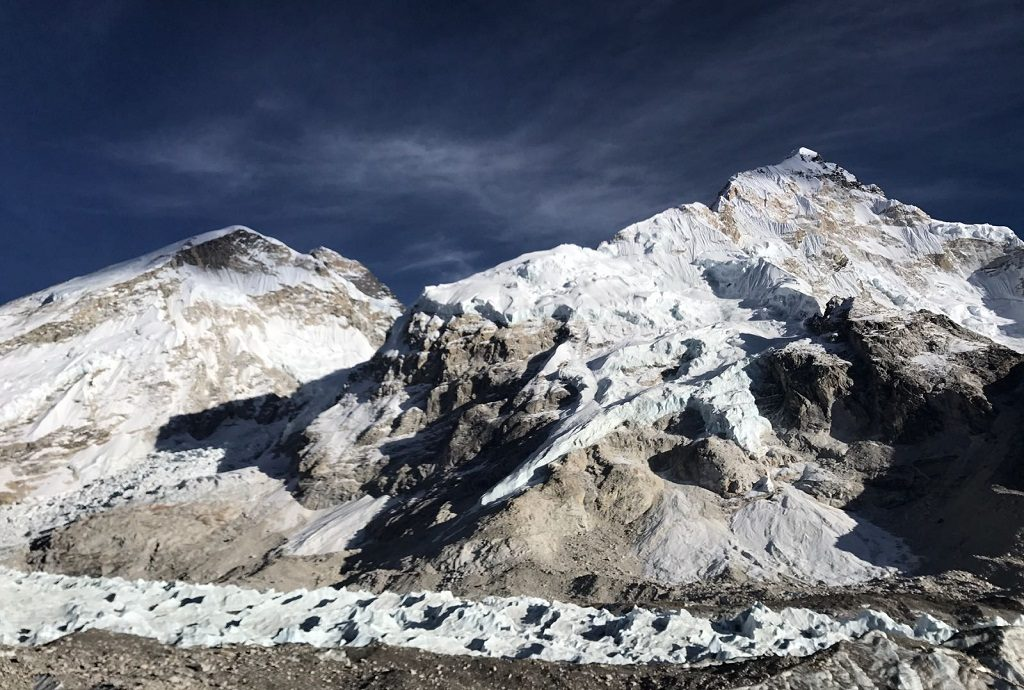 View from Kalapaththar Everest Base Camp trek