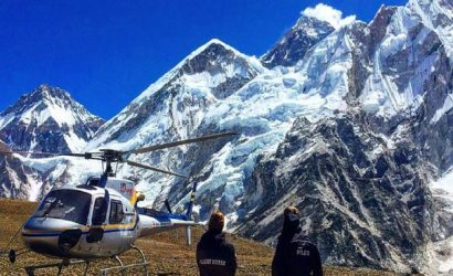 Everest Base Camp Helicopter tour from Namche