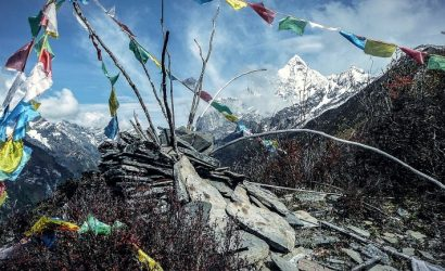 Everest Three pass trekking Khumbu region