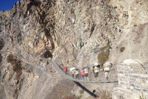 Mesokanta la pass Trekking