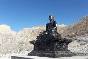 Jomsom Muktinath Temple Buddhiest stupa jomsom Muktinath trekking