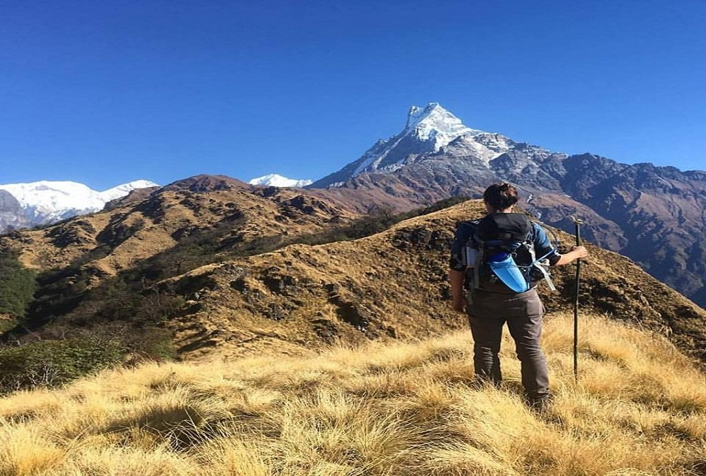 Mardi Himal base camp trek Mardi Himal Base Camp