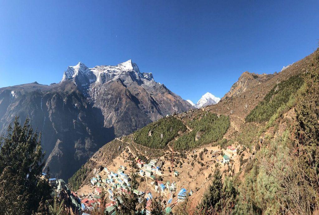 Namche Bazaar view