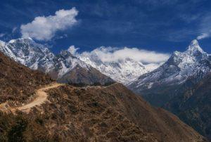 everest panorama trekking views image picture