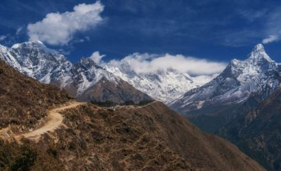 everest panorama trekking views image picture
