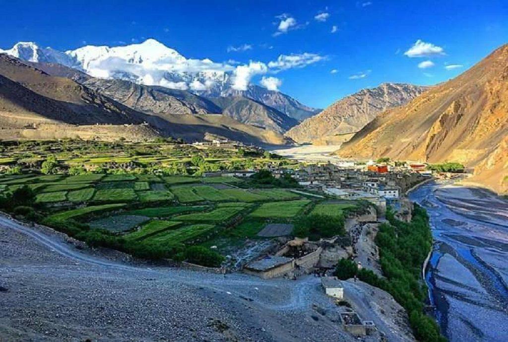 Kagbeni in Jomsom Mustang Nepal