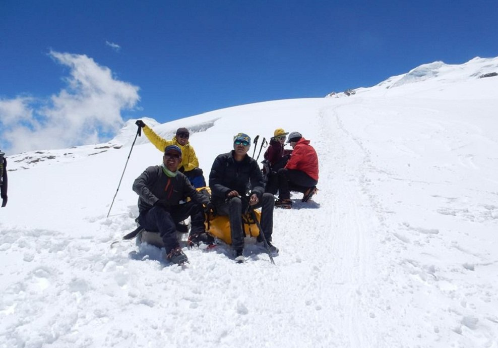 mera peak climbing in Nepal Mera expedition mera peak trek