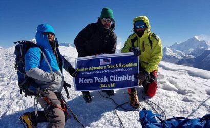mera peak climbing in Nepal Mera expedition mera peak trek