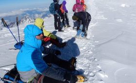 mera peak climbing in Nepal Mera expedition mera peak trek mera peak climbing picture images