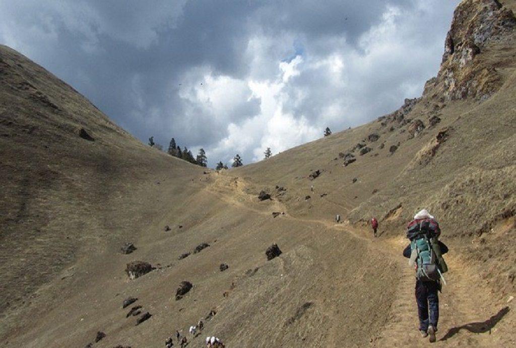 on the way torara lake on the way torara laon the way torara lake trekking to rara lake raralake hikinh on the