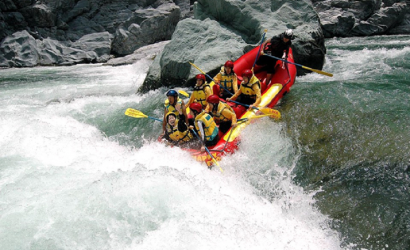 Adventure Bhotekoshi River Rafting over Bhotekoshi