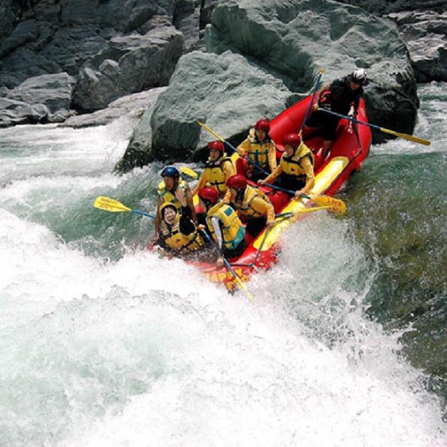 Adventure Bhotekoshi River Rafting over Bhotekoshi