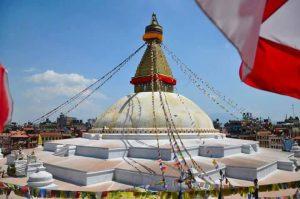 Bouddhanath Stupa In Kathmandu Nepal