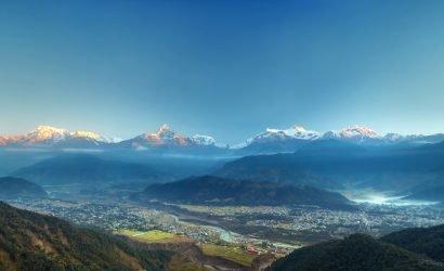 Annapurna Himalaya Range view from Sarangkot Pokhara Beautiful Places to Visit in Pokhara