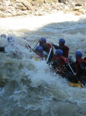 Rafting in Nepal is one of the most popular adventure