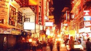 Thamel Night Life in Kathmandu