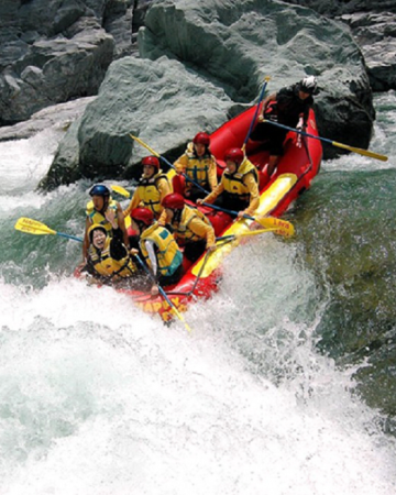 Water Rafting in Nepal