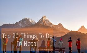 Top 20 things to do in Nepal