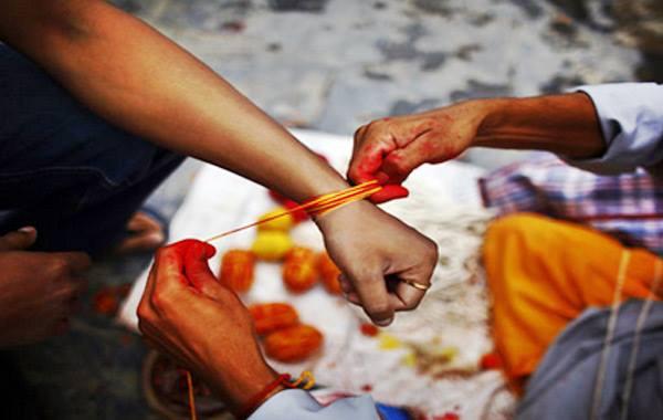 JAnai purnima rakshya bandan festival in Nepal