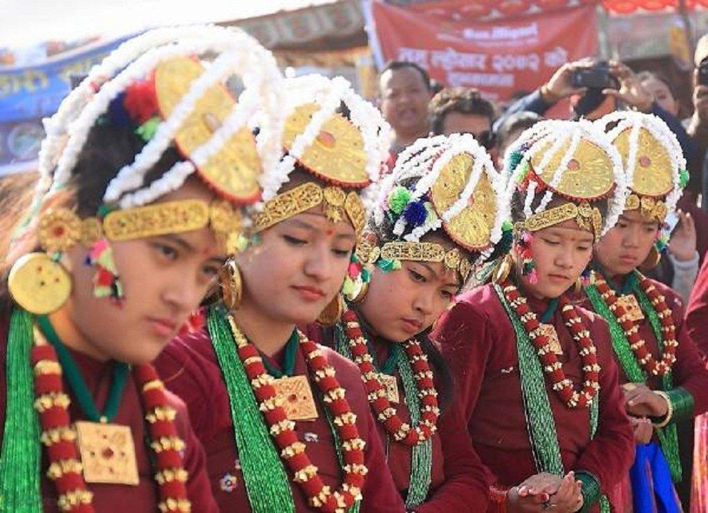 Celebrating Losar festival in Nepal