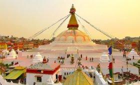 Boudanath Stupa Seven monuments of Kathmandu
