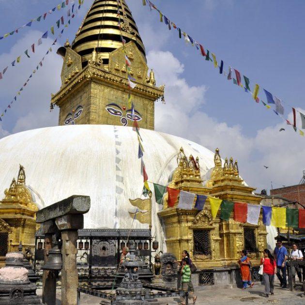 Swayambhunath Stupa free walking tour tour in Kathmandu sightseeing in Kathmandu