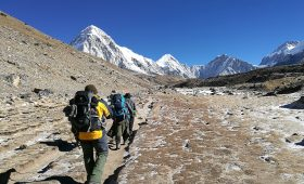 Everest region Trekking information Everest base camp trekking Facts picture image How to Prepare for Trekking in Nepal: 7 steps guide