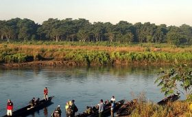 Canoe Ride in Chitwan National Park Sauraha