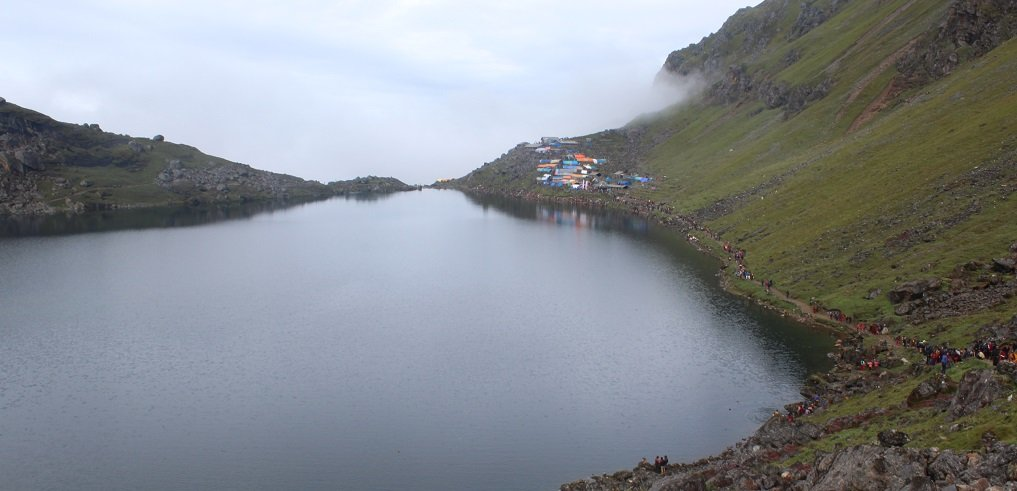 Gosaikunda lake religious and pilgrimage holy lake in Nepal,