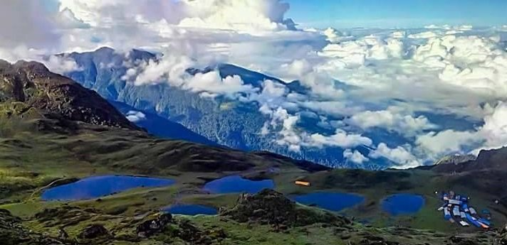 Panch Pokhari ( lake ) group of 5 Hindu holy lakes