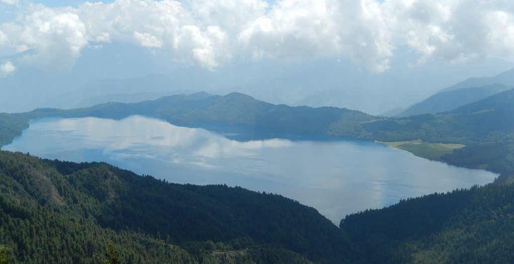 Rara lake biggest and deepest lake of Nepal