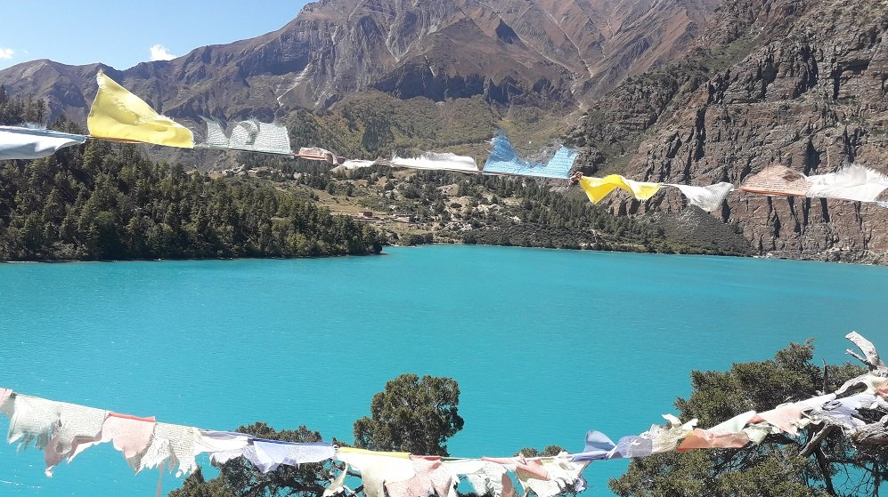 Shey Phoksundo lake an alpine fresh water oligotrophic lake of Nepal