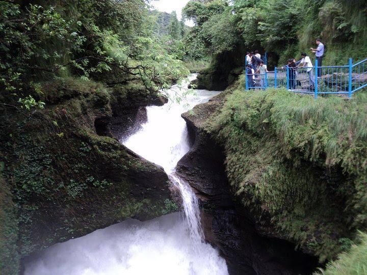 David falls Pokhara