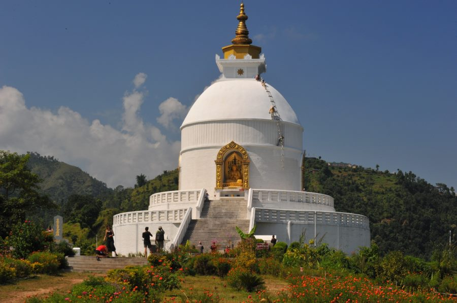 World peace pogada / Shanti stupa