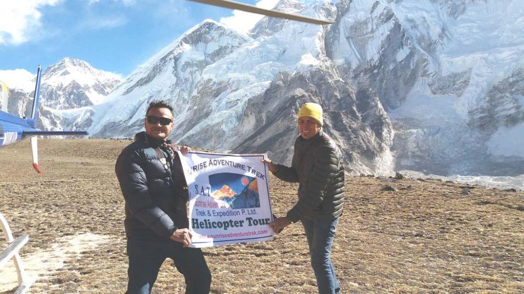 EBC Heli Tour, Best Heli Tour from Kathmandu, Best heli tour in Nepal Everest Base Camp Kalapathar Helicopter tour