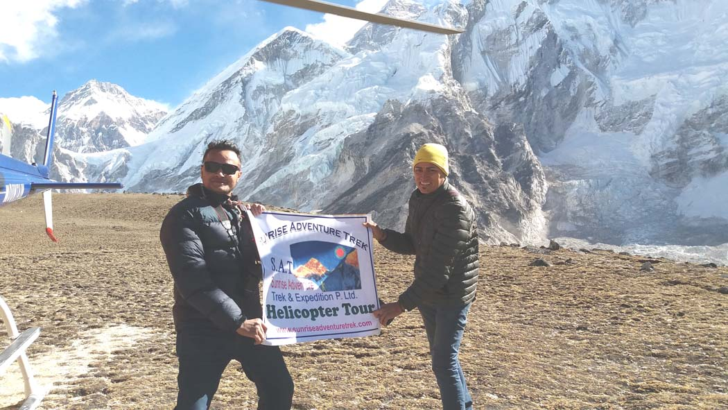 EBC Heli Tour, Best Heli Tour from Kathmandu, Best heli tour in Nepal Everest Base Camp Kalapathar Helicopter tour