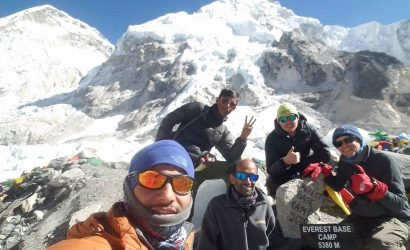 Everest base camp trekking,
