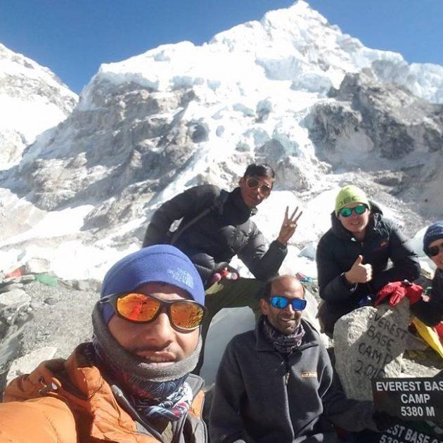 Everest base camp trekking,