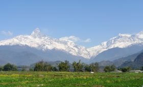 Nepal trek in monsoon season