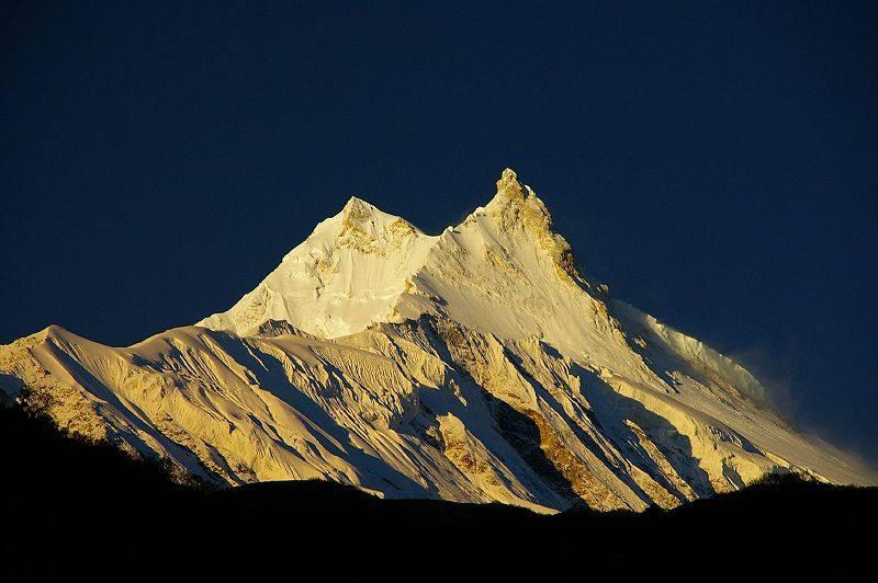 Mt Manaslu