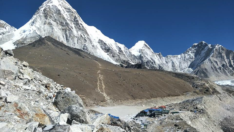 Everest base camp trek via drive to Lukla